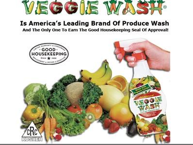 Veggie Wash 天然有機柑橘配方-蔬果清洗液