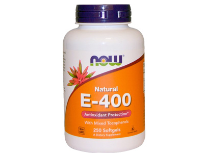 Natural E-400  天然維他命E-400
