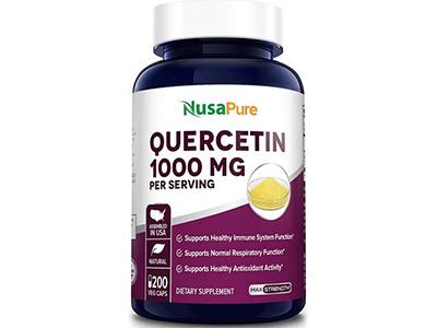 Quercetin 洋蔥素 (五羥黃酮, 槲皮素)